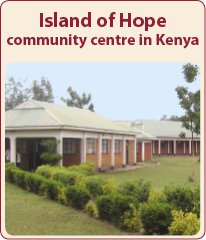 Island of Hope – a community centre at the Rusinga Island in Kenya