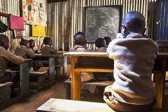 Nairobi: Teaching at Ngando Preparatory School