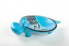 Hippo – bowl (smaller) turquoise