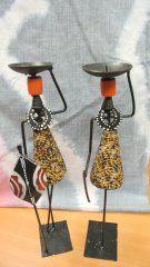 Candlestick African pair