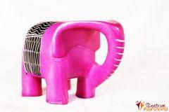 Modern large elephant – pink