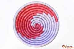 Bowl – string – small red / lilac