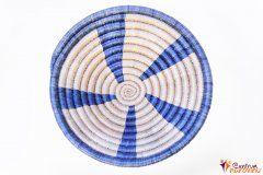 Bowl – string – small blue / natural