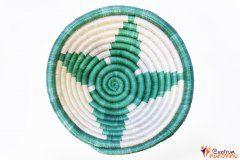 Bowl – string – small green / natural