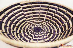 Bowl – string – large dark purple