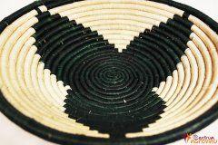 Bowl – string – large dark green