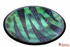 Dish (medium) green