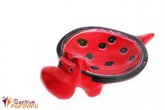 Hippo – bowl (smaller) red