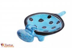 Hippo – bowl (smaller) blue