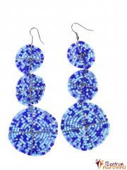 Earrings blue