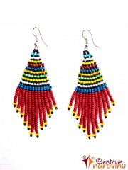 Color earrings