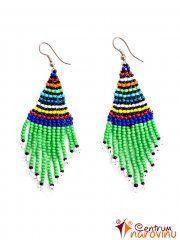 Color earrings