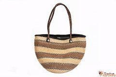 Handbag big natural colors