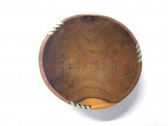 Bowl of wood natural medium