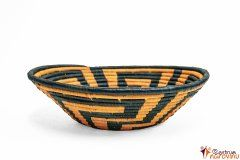 Bowl – string – large orange green