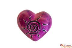 Heart violet (sun)
